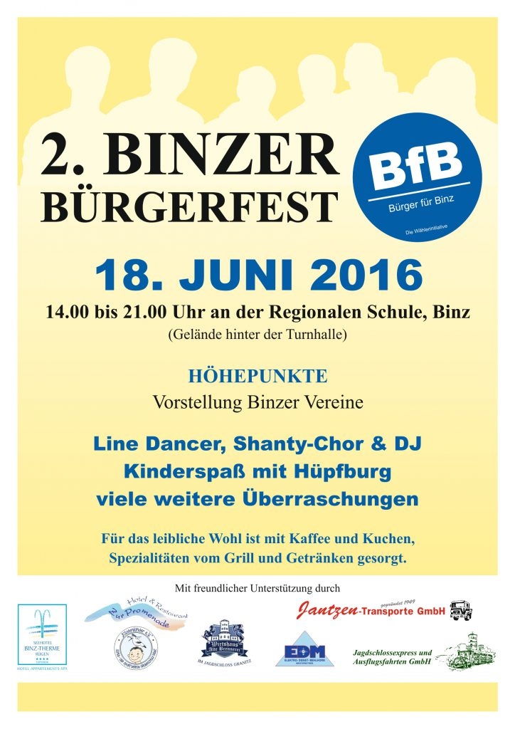 Binzer Bürgerfest