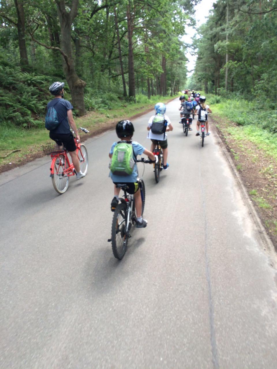 Fahrradtour in den Sommerferien