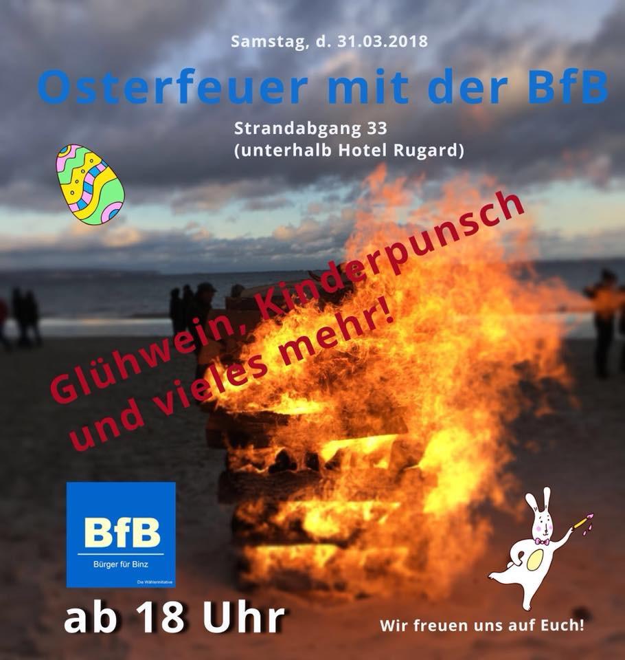 Osterfeuer Sa. d. 31.3.18